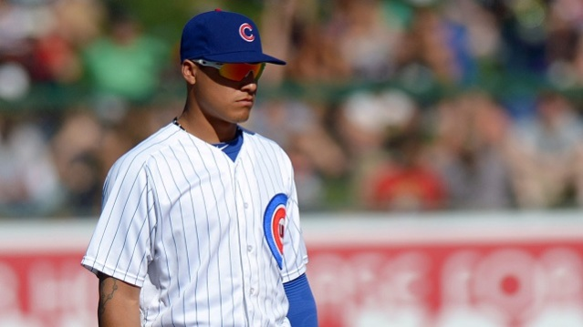 Javier Baez Chicago Cubs