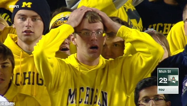 michigan football fan