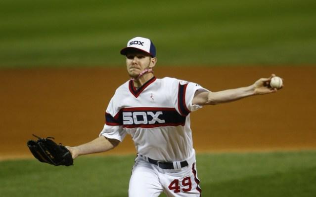 chris sale white sox throwback uniform