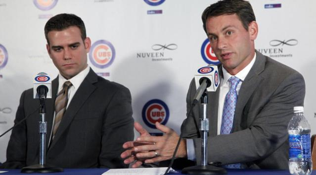 jed hoyer theo epstein cubs front office